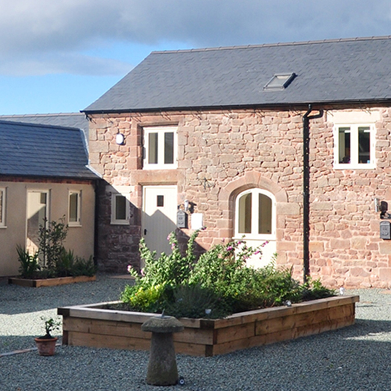Bank House Barns, Kenstone, Shropshire - building conversion & listed building refurbishment by Shingler Construction.