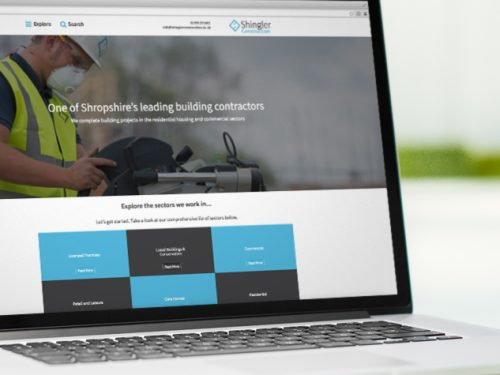 New Website for Shingler Construction launched by Reech Media